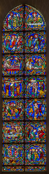 The Passion and Resurrection of Jesus window