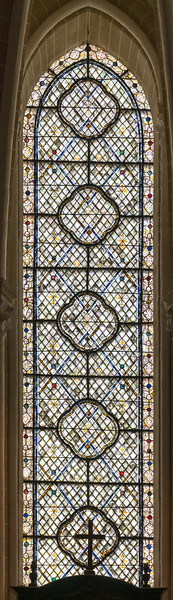 Grisaille window