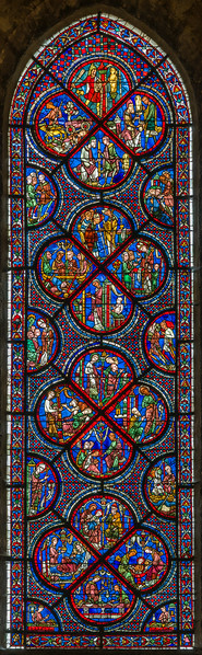 The St. Nicolas window