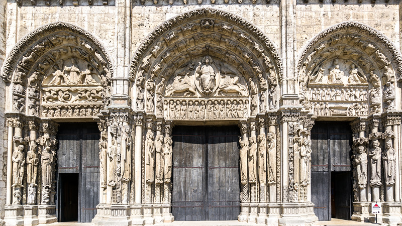 The Royal Portal - 12th Century