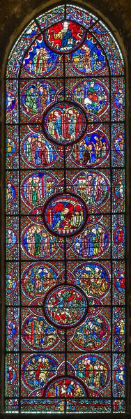 The St. Lubin (Leobinus) window