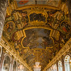 The Hall of Mirrors was quite crowded when we visited.