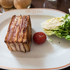 Naomi's lunch - the best croque monsieur she had this trip.