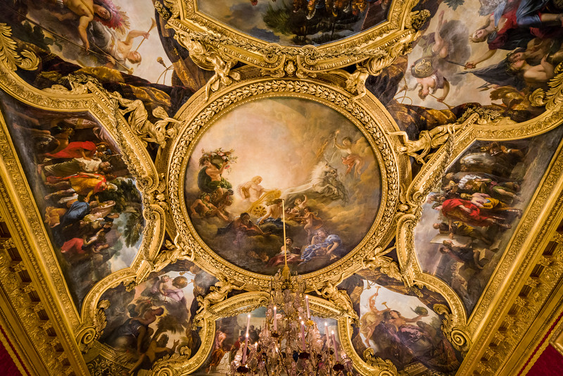 Ceiling in the Throne Room.
