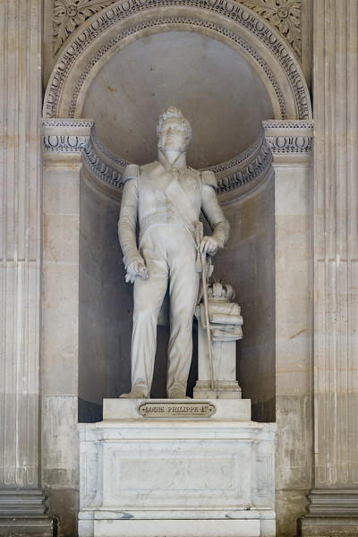 Louis Philippe 1st, outside the Gallary of Battles.