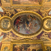 Ceiling in the Venus room - Venus being crowned by the Graces.