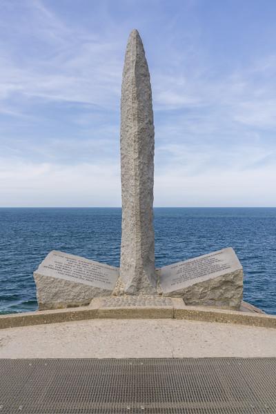 Pointe du Hoc monument.
