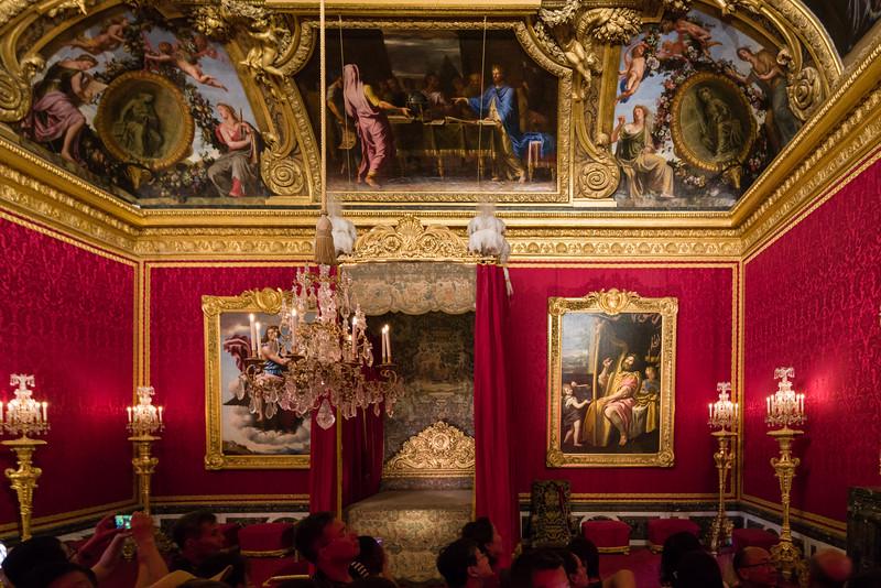 Marie Antoinette's bedroom.