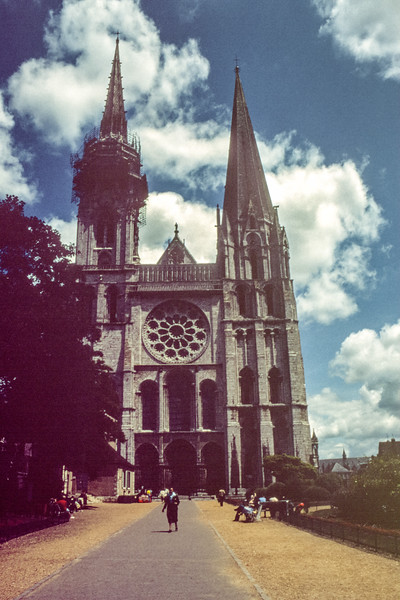 Chartres Cathedral in 1979
