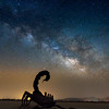 The scorpion and the milky way.