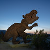 Dinosaur, by the light and the moon (but not the light of the moon).