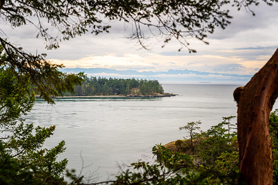 View of West Point on Whidbey Island.