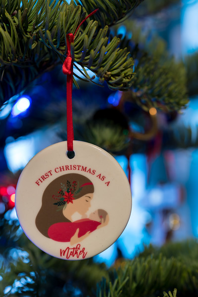 A Mom's First Christmas ornament.