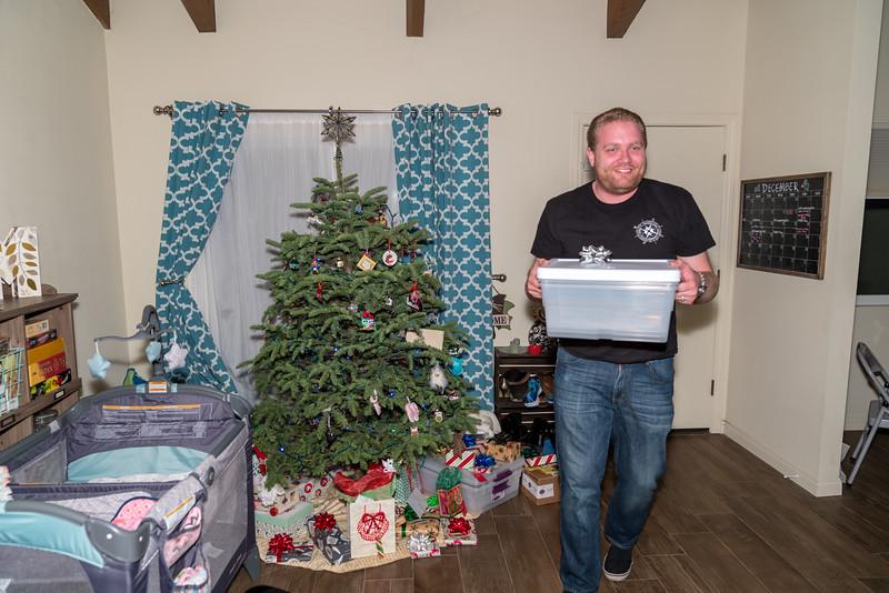 Paul, distributing the presents!