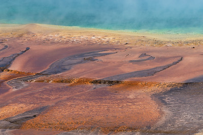 Grand Prismatic Springs, Yellowstone National Park, USA