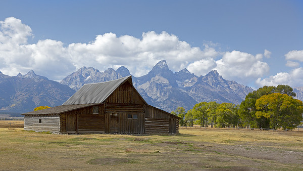 Barn, Grand Teton National Park, USA