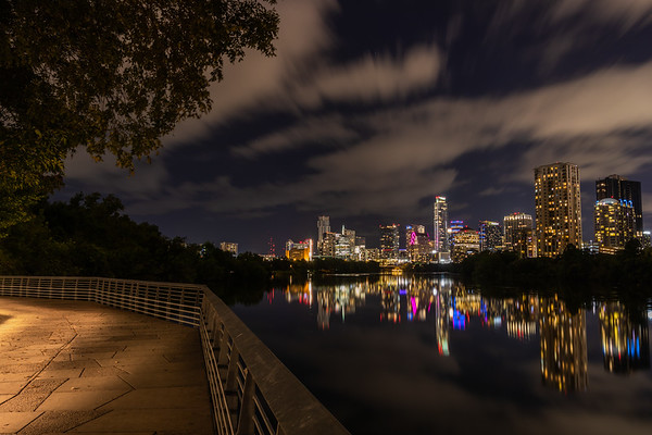 A Nighttime Stroll in Austin