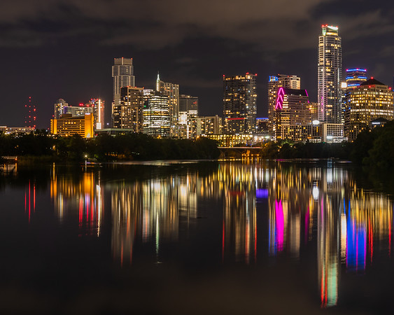 Light Show on Town Lake (Austin)