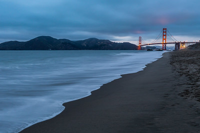 Baker Beach at Dusk
