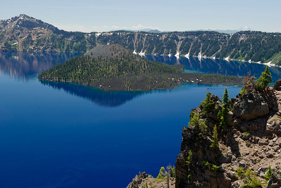Wizard Island Crater lake National Park, Llao Bay