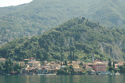 Hillside above Verenna, Lake Como