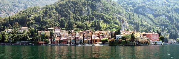 Verenna on Lake Como<br /> 12x36 Panorama