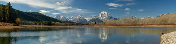 Oxbow Bend in Late-Fall
