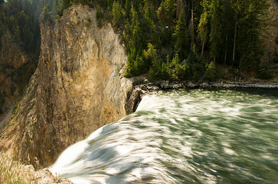 Lookout: Brink of the Lower Falls