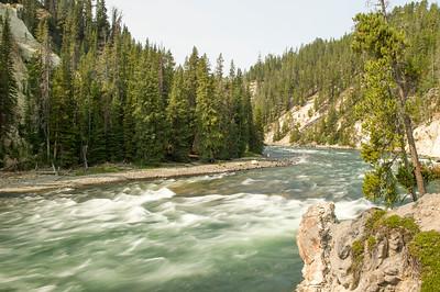 Yellowstone River, below Upper Falls