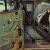 Oxidized junkyard truck