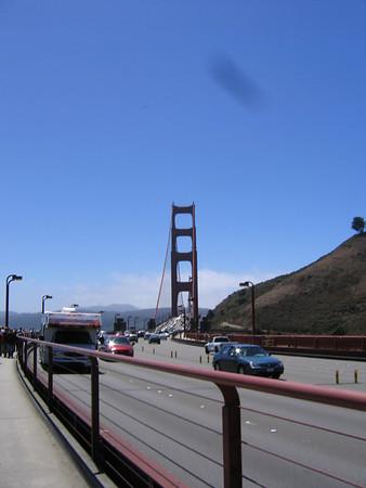Golden Gate Bridge w/NZ