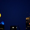 Super Moon over Manhattan