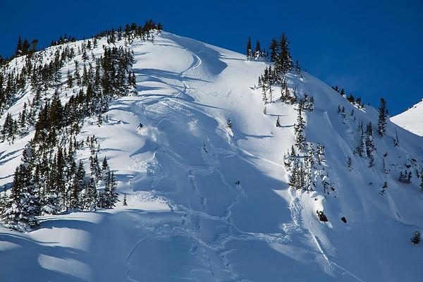 Ski Cut Avalanche