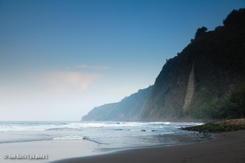 Waipi'o Valley, Hawai'i, December 2008.