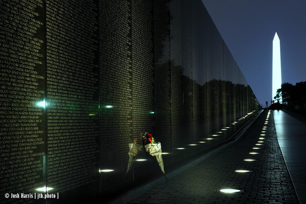 Vietnam Veterans Memorial, Washington, October 2009.