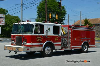 Frederica (Kent Co.) Engine 49-2: 1999 Spartan/Luverne 1500/1000