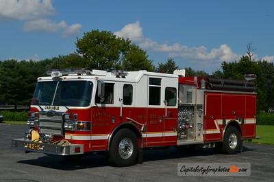 Milford (Carlisle Fire Co.) Engine 42-5: 2007 Pierce 1500/1000
