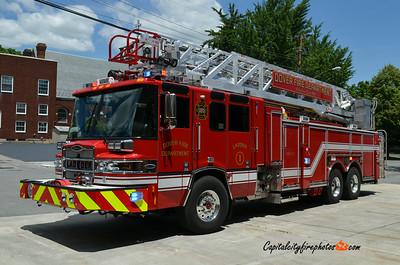 """Dover (Kent Co.) Ladder 1: 2011 Pierce Quantum """"PUC"""" 1500/500 100'"""