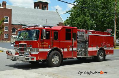 Dover (Kent Co.) Engine 4: 2005 Pierce Lance 2000/1000