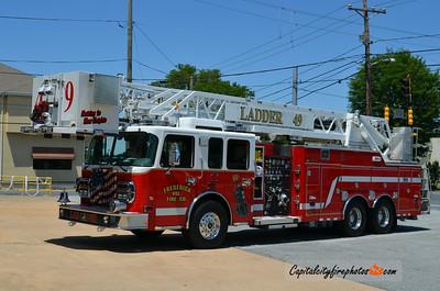 Frederica (Kent Co.) Ladder 49: 2009 Spartan/Alexis/RK Aerial 104'