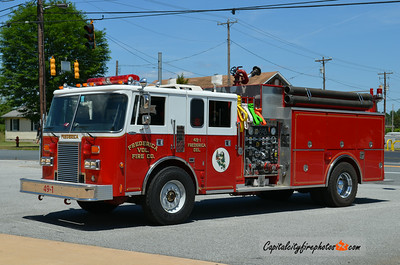 Frederica (Kent Co.) Engine 49-1: 1990 Pierce Lance 1250/1250