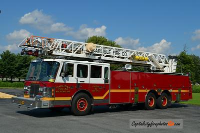 Milford (Carlisle Fire Co.) Ladder 42: 1992 Simon-Duplex/LTI 100'