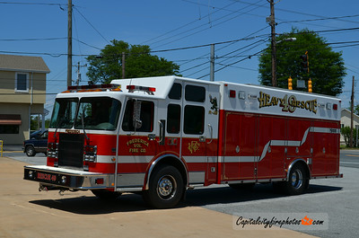 Frederica (Kent Co.) Rescue 49: 2001 Spartan/Supervac