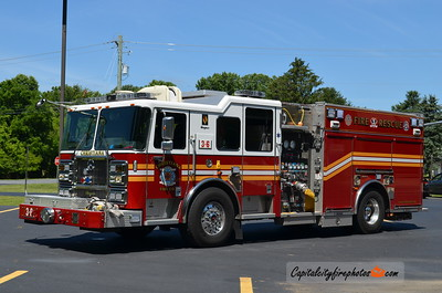 Christiana (New Castle Co.) Engine 3-6: 2009 Seagrave Marauder II 1500/750