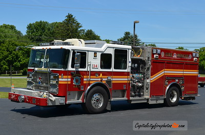 Christiana (New Castle Co.) Engine 3-4: 2009 Seagrave Marauder II 1500/750