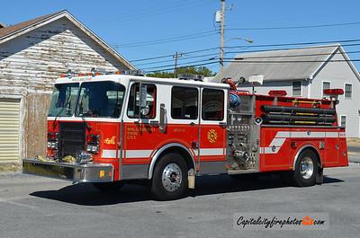 Millsboro Engine 83-2: 1991 Spartan/4 Guys 1500/1000/30