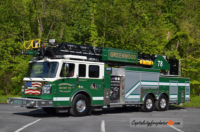 Greenwood Ladder 78: 2013 Rosenbauer Commander 1500/500 109' Viper
