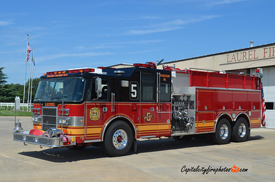 Laurel Engine 81-5: 1994 Pierce Lance 1500/2500
