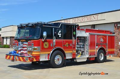 Laurel Engine 81-4: 2013 Pierce Arrow XT 1500/750