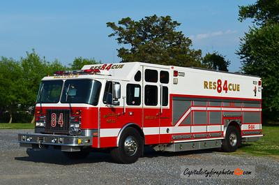 Millville Rescue 84: 1992 E-One Cyclone II